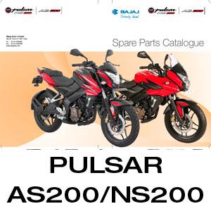 Pulsar AS200 NS200